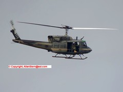"""US State Dept UH-1N N9103A as """"DOS 145"""" at Patrick AFB, 14 Oct 2016. (allanstern@aol.com) Tags: uh1n uh1"""