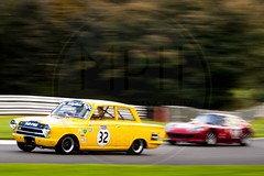 Richard Belcher - Ford Lotus Cortina (MPH94) Tags: oulton park cheshire north west motorsport motor sport race racing motorracing auto car cars october photography canon 500d cscc classic sports club adams page swinging sixties richard belcher ford lotus cortina