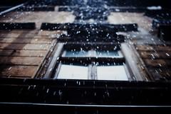 downpour (ewitsoe) Tags: rain downpour ewitsoe nikond80 35mm street raining autumn pouring city building architecture old poznan poalnd poland