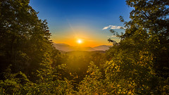 Great Smoky Mountains Bathed in Sunlight (Omni-Photography) Tags: hdr sunrise forest great smoky mountains national park landscape sun