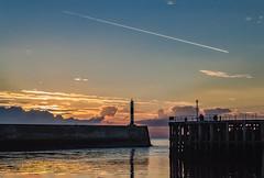Aberystwyth Harbour (dannie843) Tags: aberystwyth wales harbour sunset