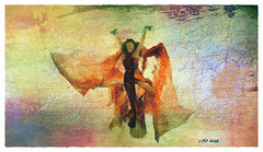 Halloween Dancer (Leo Bar) Tags: dance danza digitalart painting pixinmotion halloween leobar texture textura colors compositing artdigital awardtree netartii artshow