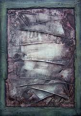 Material #1 (Archaic), mixed media by Cezary Gapik (CEZ-ART) Tags: cezarygapik abstract mixedmedia texture structure art