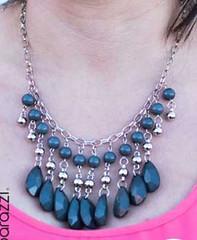 5th Avenue Grey Necklace K4 P2240A-3