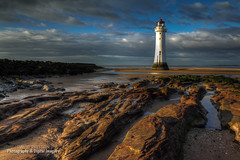 PERCH ROCK LIGHTHOUSE (David Preston Photography & Digital Imagery) Tags: uk england beach coast sand rocks newbrighton merseyside thewirral perchrocklighthouse