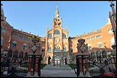 Barcellona - Ospedale San Paul 01 (BeSigma) Tags: travel nikon viaggio barcellona cattedrali d600 chiese 24120 monasteri