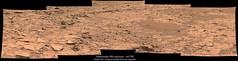 Alexander Hills outcrop - sol 790 (Thomas Appéré) Tags: mars msl curiosity science nature exploration rock rocher sand sable mosaic