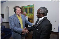 Visita do Embaixador da República do Burundi, Gaudence Sindayigaya