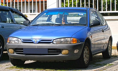 car persona 1st 1996 first malaysia series hatch kuala 300 gen generation lumpur proton compact hatchback satria 3door 300series