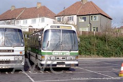 SP08219FprintRB128BrentCross061280AndrewColebourne (andrewcolebourne) Tags: panorama volvo shoppingcentre elite simmons express greenline dominant brentcross b58 reliance aec plaxton londoncountry duple rb128 epm128v harlowgarage jmc262n