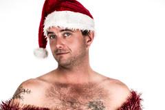 Face of Christmas #19 (Adam_Campbell) Tags: santa christmas people white photoshop portraits canon festive photography high key bright hats balls headshot portraiture tinsel themed props lightroom 6d speedlite strobist 600ex