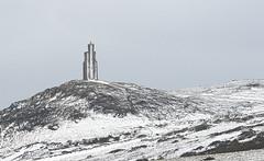 Snowy Tower (manxmaid2000) Tags: winter wild snow cold tower weather milner landmark icon locksmith isleofman rugged manx iom porterin viewtower braddahead milnertower