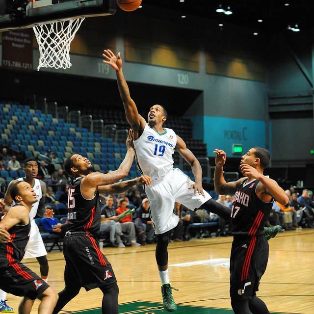 Reno Bighorns vs Idaho Stampede at Reno Events Center