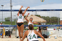 TU-WIU Game 2-053 (sport.shooter) Tags: girls game college beach sport ball sand women university tournament match volleyball webber tu volley wiu tulane