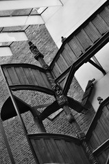 DSC_4110 [ps] - Piece of the True Cross (Anyhoo) Tags: blackandwhite bw saint museum stairs facade carved panel post capital steps carving staircase va victoriaandalbertmuseum figure vam façade figurative artefact balustrade mediaeval anyhoo linenfold photobyanyhoo