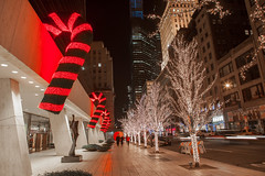 The Solow Building Candy Canes 9 West New York City (Anthony Quintano) Tags: christmas nyc newyorkcity holidays candycanes solow solowbuilding 9west