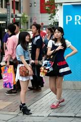 Tokyo - Akihabara (*maya*) Tags: girls anime cute japan shopping comics japanese lights tokyo neon crowd manga kawaii akihabara fumetti otaku akiba japanesegirls giappone streetfashion 秋葉原 taito ragazze chiyoda streetstyle folla akihabaraelectrictown