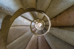 DSC09566 (Falcdragon) Tags: barcelona winter holiday church up architecture stairs spiral spain stair looking sony case famlia gaud alpha sagrada antoni a7 baslica 2015 ilce7