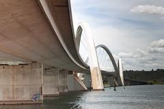 JK Bridge 3 (Aszuos) Tags: bridge gua braslia lago df ponte jk