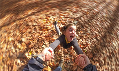 Aaaahhhh!!! (arturii!) Tags: trip travel family autumn light playing game girl beauty forest woodland wow fun carpet kid amazing nice interesting holding hands holidays europe dad tour view superb pov awesome spin father great young catalonia pointofview route enjoy spinning stunning otoo viatge leafs vacations impressive volta vuelta gettyimages bosc tardor rotate firstpersonview firstpersonperspective arturii arturdebattk canonoes6d