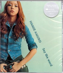 2001.08.08_Say-the-word-CD_physical_02 (Namie Amuro Live ) Tags: namie amuro cover singlecover  saytheword physicalcd