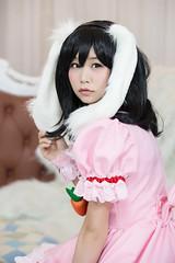 P55_023 (ms09Dom) Tags: cosplay コスプレ 東方project 因幡てゐ 五木あきら itsukiakira