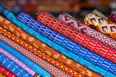 Colorful Fabric in Lagos (Warriorwriter) Tags: poverty life africa people house water trash river living smog dangerous community families culture lagos safety crime pollution nigeria disease congestion pirogue crowded dugoutcanoe disparity westernafrica