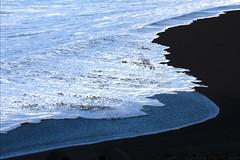 a natural Azores abstract (lunaryuna) Tags: sea portugal water wave atlantic diagonal shore foam lunaryuna blackbeach naturalabstract azoresislands ilhadofaial volcanicislands ilhasazuais