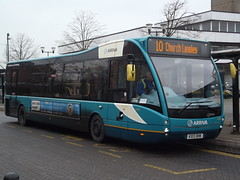 Arriva Network Harlow (ex Arriva Kent & Surrey/Medway Towns) Optare Versa KX13 DHK (4239) Harlow Town Rail Station 21/01/15 (TheStanstedTrainspotter) Tags: bus public buses kent transport chatham harlow network publictransport gillingham arriva rainham harlowtown tgm 4239 optareversa arrivamedwaytowns arrivakent networkharlow arrivakentsurrey arrivakentandsurrey kx13dhk harlowtownrailstation