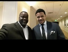 T-Mar and Hosea Chanchez at Sing-a-rama 2015