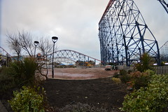 The Future Site of Skyforce (CoasterMadMatt) Tags: park new uk greatbritain winter red england fish max west eye english beach one amusement big construction nikon ride angle photos unitedkingdom britain north wide wideangle lancashire fisheye photographs gb roller arrows amusementpark opening british rides rollercoaster arrow pepsi february bigone coaster blackpool pleasure redarrows attraction coasters fisheyelens rollercoasters lancs hypercoaster pleasurebeach wideanglelens nikond3200 blackpoolpleasurebeach 2015 pepsimax thebigone pepsimaxbigone northwestengland d3200 skyforce pleasurebeachblackpool coastermadmatt coastermadmattphotography february2015 newfor2015 winter2015 newridefor2015 opening2015 pleasurebeachblackpool2015 blackpoolpleasurebeach2015 redarrowsride