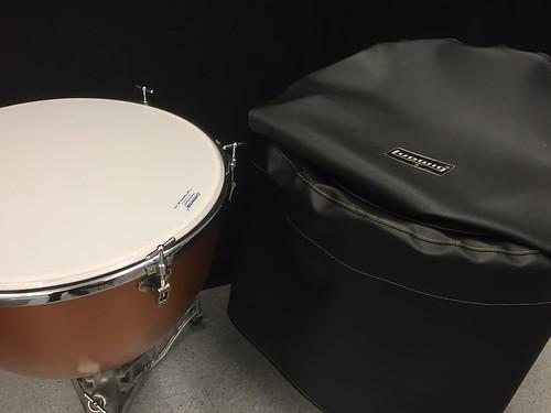 Skydd för Timpani-trumma