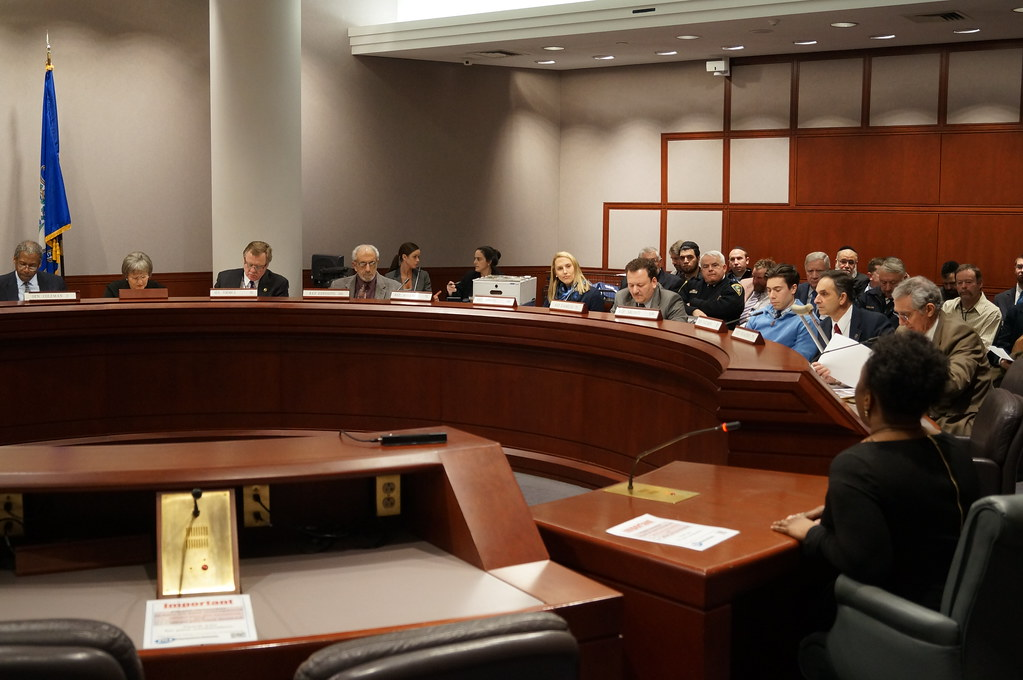 Senator Formica Listens to Testimony at a Public Safety ...