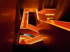 Zollverein (omuendelein) Tags: light art stairs licht kunst treppe architektur