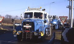 Econofreight Heavy Haul 1988 or 89 (3) (asdofdsa) Tags: transport trucks scammell hgv heavyhaul econofreight tudworthroundabout