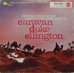 Duke Ellington - Caravan EP (willemalink) Tags: vinyl 7 duke record caravan ep ellington