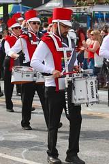 Fremont Solstice 2016  2174 (khaufle) Tags: solstice fremont wa usa hat marchingband parade drum