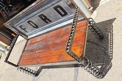 Recycled Salvage Design artist Raymond Guest (Raymond Guest) Tags: bench furniture gardenbench recycledart gardenideas garden gardening gardenfurniture outdoorgarden raymondguest recycledsalvagedesign