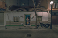 Fuengirola #9 (Chris Bonnie) Tags: sony a7rii a7r2 mirrorless alpha flickr fluidr flickriver spain fuengirola chrisbonnie carlzeiss oldlady house nightshot nightphotography artificiallight existinglight availablelight lowlight
