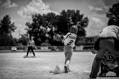 Youth Baseball - BW (Jonathan Tasler) Tags: blackandwhite sports ball baseball bat pitcher umpire youthbaseball