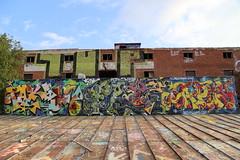 Freshness from Pispala (Thomas_Chrome) Tags: graffiti streetart street art spray can legal fame gallery hof pispala wall walls tampere suomi finland europe nordic rooftop