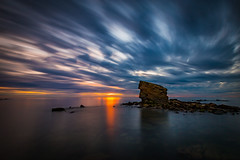 2016-6082 (Tom Hibberd Photography) Tags: longexposure sea sky seascape reflection water rock sunrise canon sand northumberland northeastengland lr5 canoneos6d ef1635mmf4l