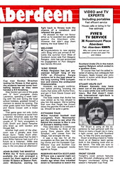 Aberdeen vs St Johnstone - 1983 - Page 15 (The Sky Strikers) Tags: road cup st magazine official scottish aberdeen don to hampden league johnstone the matchday pittodrie 40p