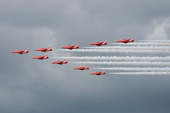 Royal Air force Red Arrows, BAE Hawk T1's (D.Morris Photography) Tags: red force hawk air royal arrows bae t1s