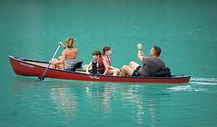 GITA IN BARCA. (Skiappa.....v.i.p. (Volentieri In Pensione)) Tags: lago vogatori gita acqua divertimento panasonic lumix skiappa