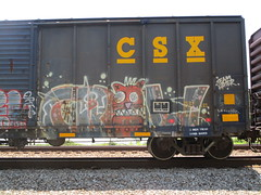 Crow (Swish 1998) Tags: freight graffiti ra ese wh