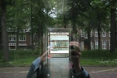Reflection (Aida G. Capdevila) Tags: utrecht holanda holland netherlands pasesbajos dutch reflection reflejo enigma raro extrao cristal
