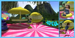 Lemonade Dance Party (cady.amelia) Tags: cutebytes itsallaboutthefun kidtokidevent truthhair whimsy