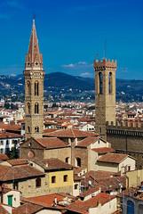 Tejados de Florencia (II) (Leandro Fridman) Tags: tejas tejados torres florencia cielo airelibre ciudad italia arquitectura nikon d60 nikond60