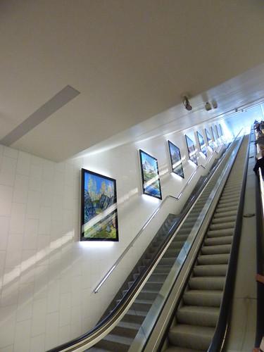 St Moritz Design Gallery - up the escalators - second level